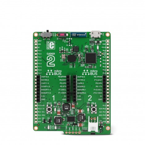 Mikroe Clicker 2 for PSoC 6 front