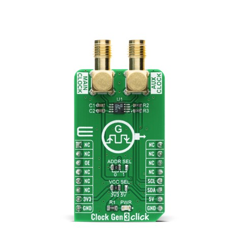 Shop Click Boards Clock & Timing Clock generator Clock Gen 3 Click Front