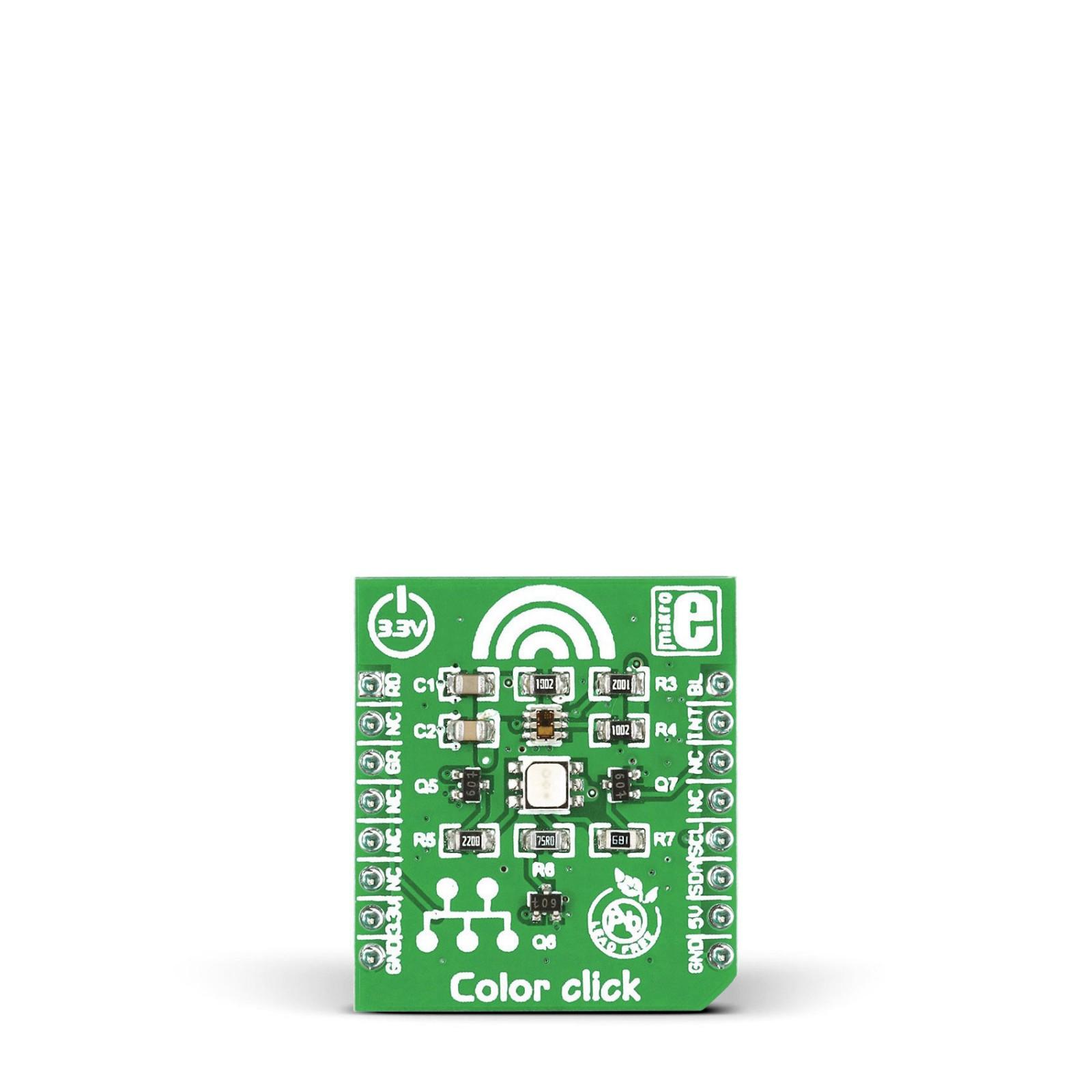 Color Click Tcs3471 Light Sensor With Rgb Led Diode Driver Chip Application Circuit I2c Interface Mgctlbxnmzp Mgctlbxv5112 Mgctlbxlc Mgctlbxpprestashop