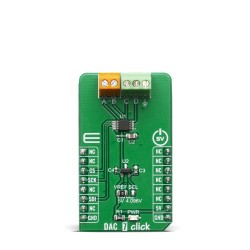 Home Shop Click Boards Mixed Signal DAC DAC 7 Click Front