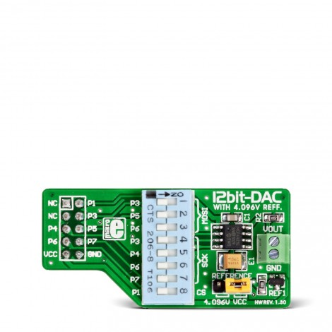 Mikroe Mixed-Signal DAC Board
