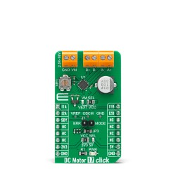 Shop Click Boards Motor Control Brushed DC Motor 17 Click Front