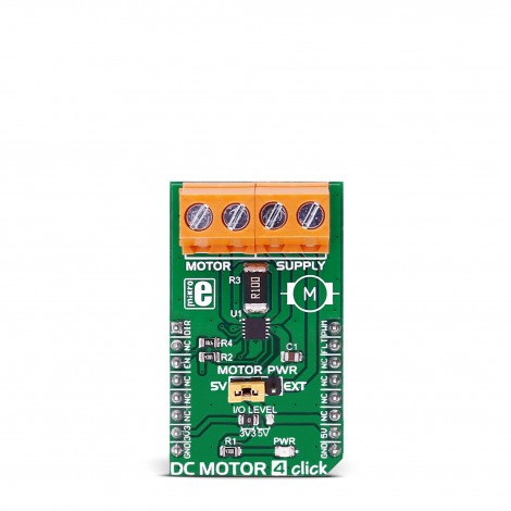 DC MOTOR 4 click front