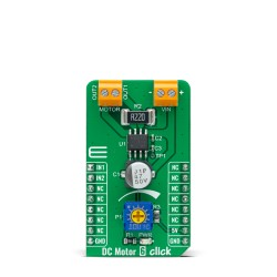 Shop Click Boards Motor Control Brushed DC Motor 6 Click Front