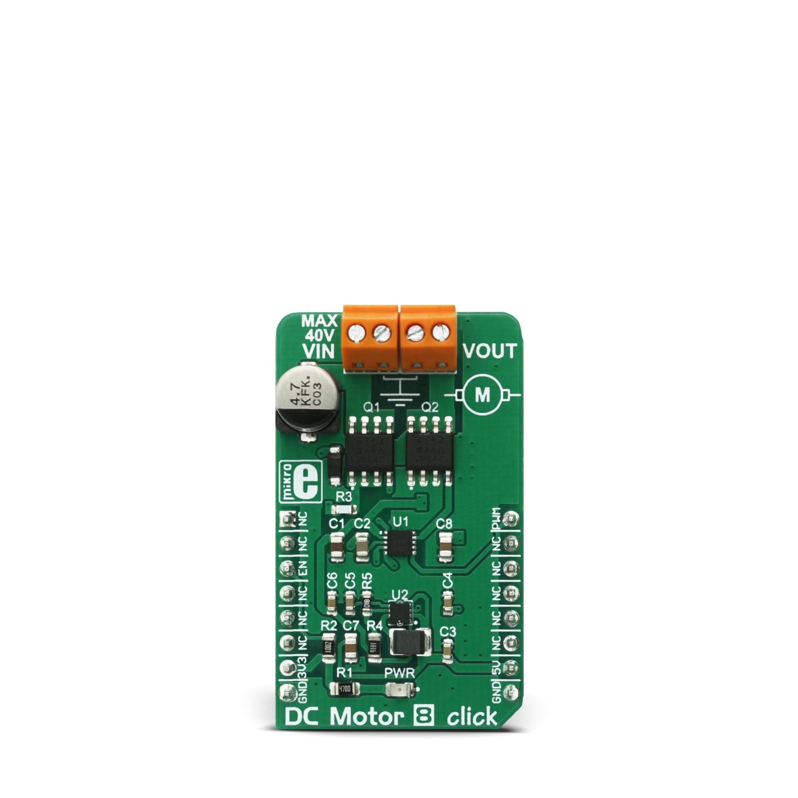 Dc Motor 8 Click Mikroelektronika Bridge Control With Power Mosfets Mgctlbxnmzp Mgctlbxv5112 Mgctlbxlc Mgctlbxpprestashop