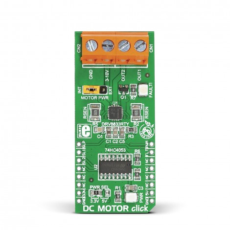 DC MOTOR click front