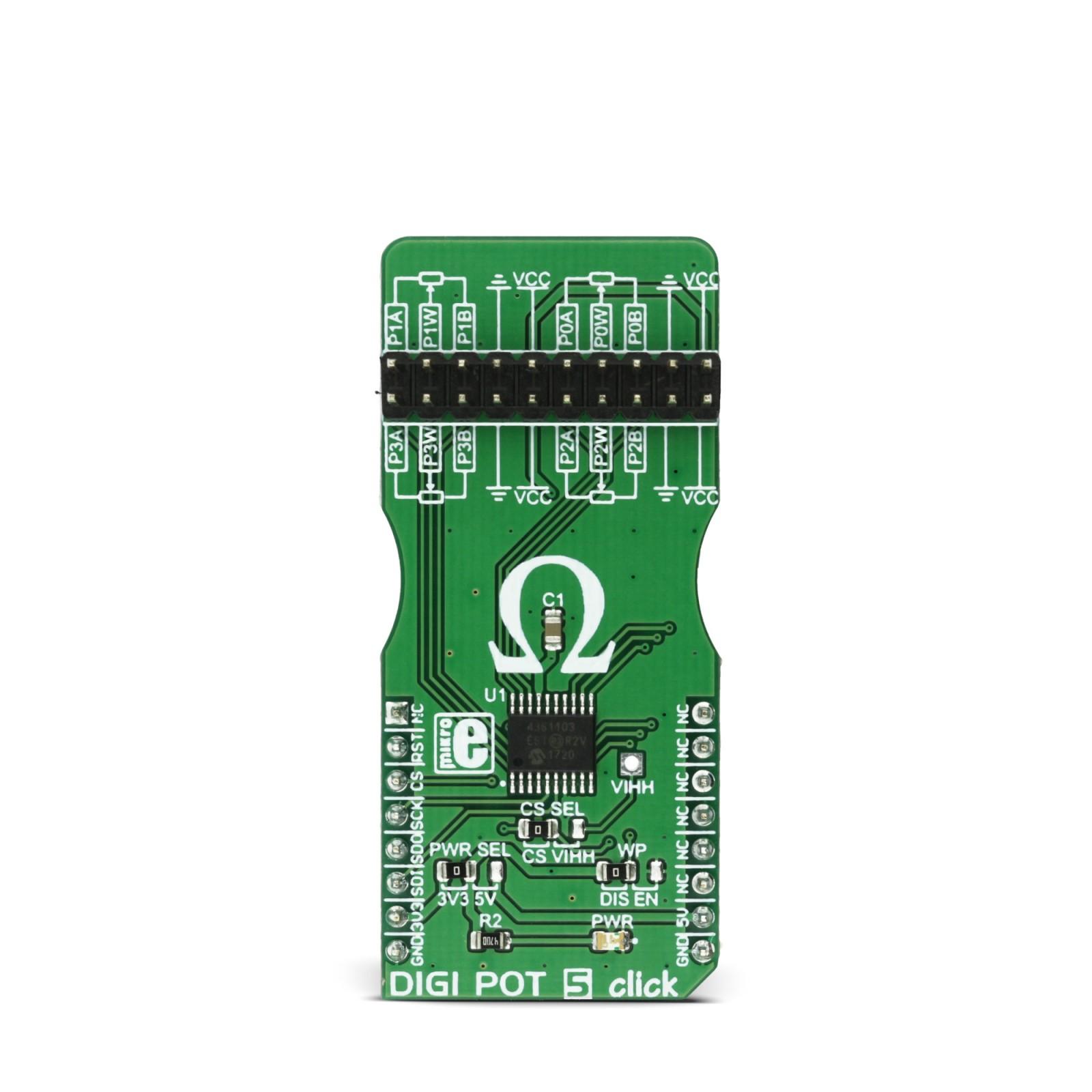 Digi Pot 5 Click Mikroelektronika Amplifier Discrete Semiconductor Circuits Electronics Textbook Mgctlbxnmzp Mgctlbxv5112 Mgctlbxlc Mgctlbxpprestashop