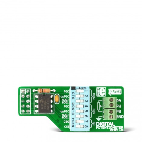 Digital Potentiometer Board