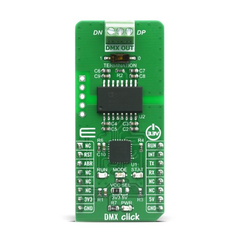 Shop Click Boards Interface DMX DMX Click Front