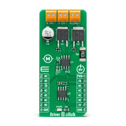 Shop Click Boards Motor Control Brushed Driver 2 Click Front