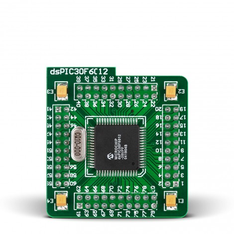 MikroElektronika MCU card with dsPIC30F6014A Microcontroller