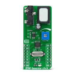 Shop Click Boards Audio & Voice Signal Processing DTMF Generator Click Front