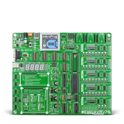 Mikroe Full Featured Boards EasyAVR v7 front