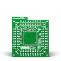 Standard empty MCU card for 144-pin TQFP Stellaris LM4F series