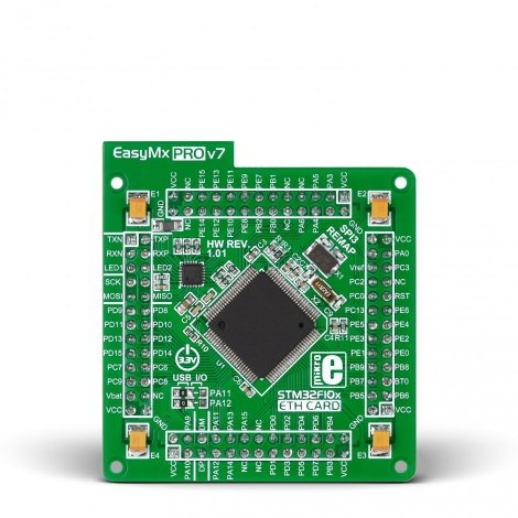 Mikroe EasyMx PRO v7 for STM32 MCUcard with STM32F107VCT6