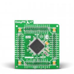 MikroElektronika EasyPIC FUSION v7 MCUcard with dsPIC33FJ256GP710A