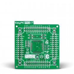EasyPIC PRO v7 Empty MCUcard ETH 80pin TQFP