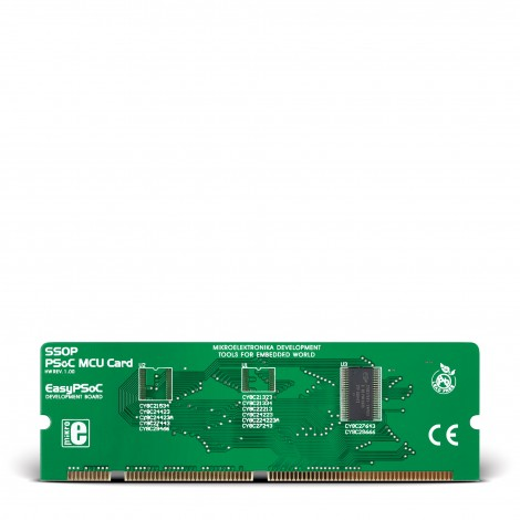 Mikroe EasyPSoC MCU Card with PSoC CY8C27643