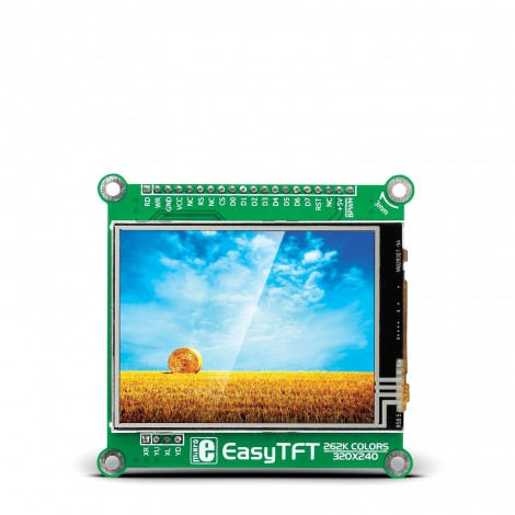 Mikroe Display EasyTFT Board