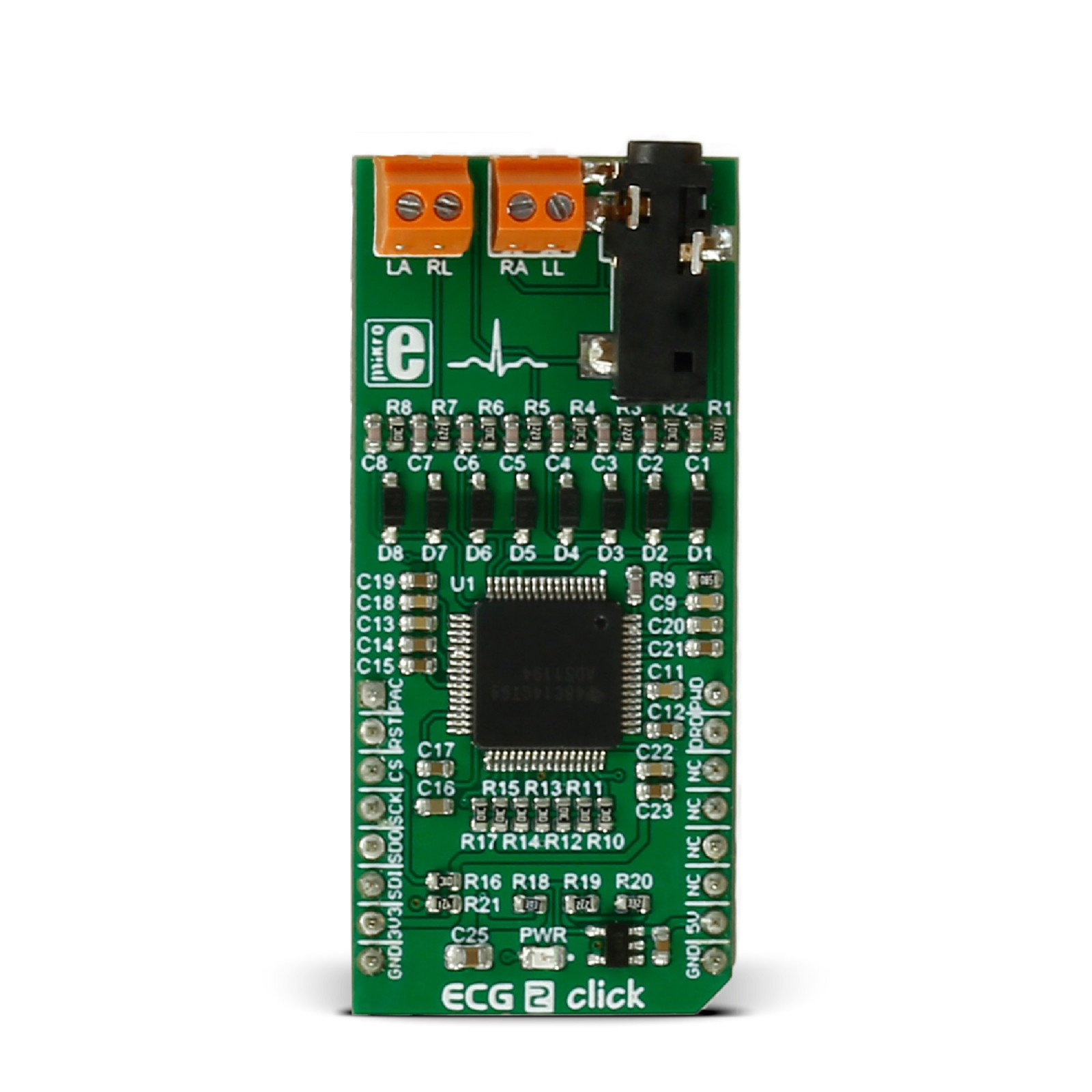 Ecg 2 Click Board With Ads1194 Ad Converter From Texas Instruments Programmer Avr Your Usb Circuit Diagram Nonstopfree Electronic Mgctlbxnmzp Mgctlbxv5112 Mgctlbxlc Mgctlbxpprestashop
