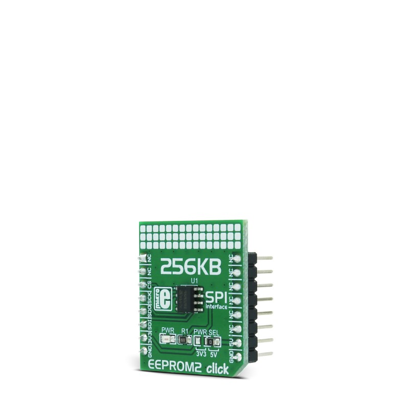 EEPROM 2 click — board with M95M02 IC, 256 KB