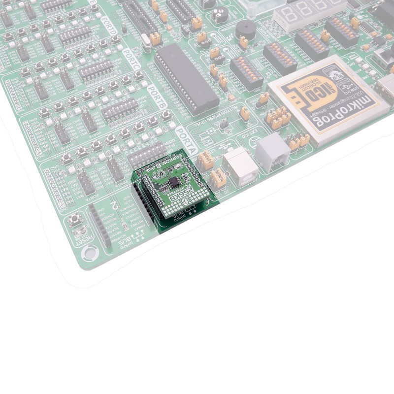 EEPROM 3 click – board with Atmel's AT24CM02 I2C-compatible 256 KB