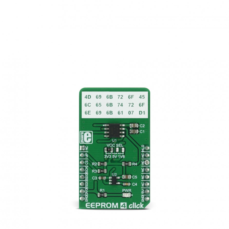 Eeprom 4 Click Board With 256 Kb Of Mikroelektronika Battery Protection Circuit For 74v Power Tool View Larger