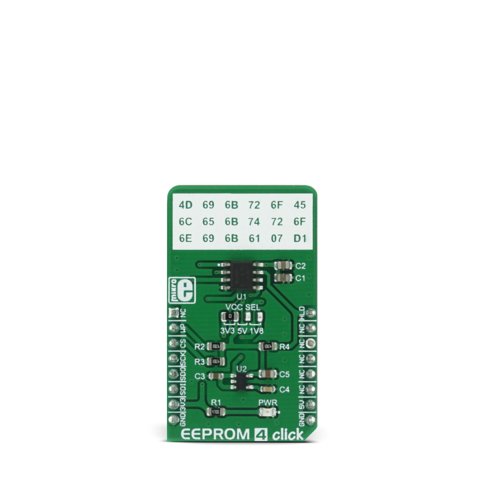EEPROM 4 click - board with 256 KB of EEPROM | MikroElektronika
