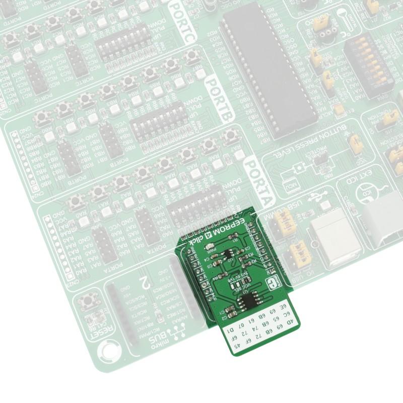 EEPROM 4 click - board with 256 KB of EEPROM | MikroElektronika