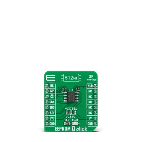 Shop Click Boards Storage EEPROM EEPROM 7 Click Front