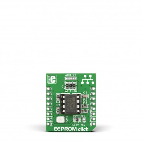 Mikroe Storage EEPROM Click front
