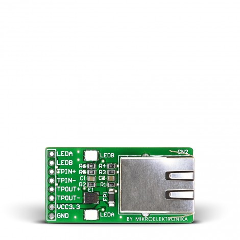 Ethernet Connector prototyping board (RJ45)