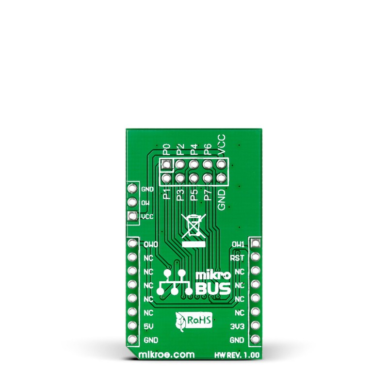 Expand 3 Click Board With Ds2408 8 Channel Programmable I O Expander
