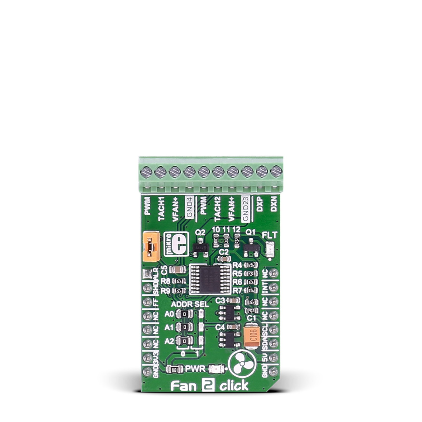 Fan 2 Click Board With Max31760 Precision Speed Controller 3 Wire Electric Diagram Pc Mgctlbxnmzp Mgctlbxv5112 Mgctlbxlc Mgctlbxpprestashop