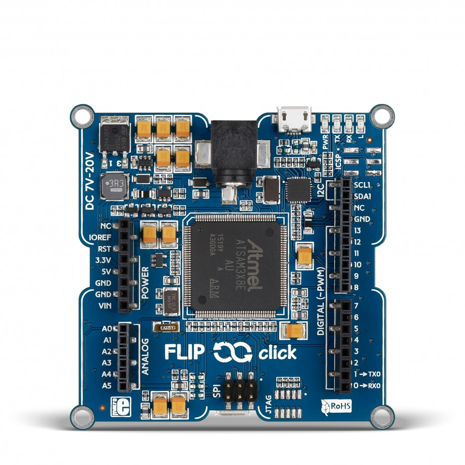 Flipclick Sam3x Four Mikrobus Sockets On An Arduino Compatible Something Like This Someone Posted It Forum Http