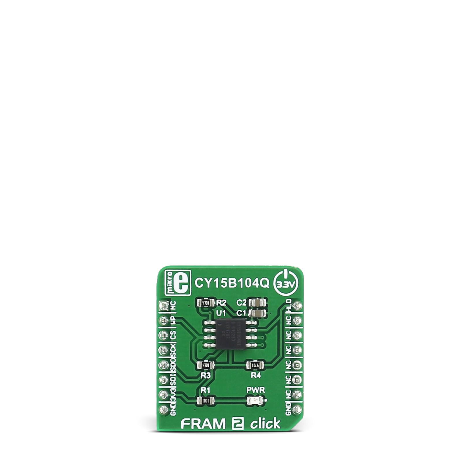 Fram 2 Click Carries The Cy15b104q 4 Mbit 512k X 8 Serial Spi F Copyright Of This Circuit Belongs To Smart Kit Electronics In Mgctlbxnmzp Mgctlbxv5112 Mgctlbxlc Mgctlbxpprestashop