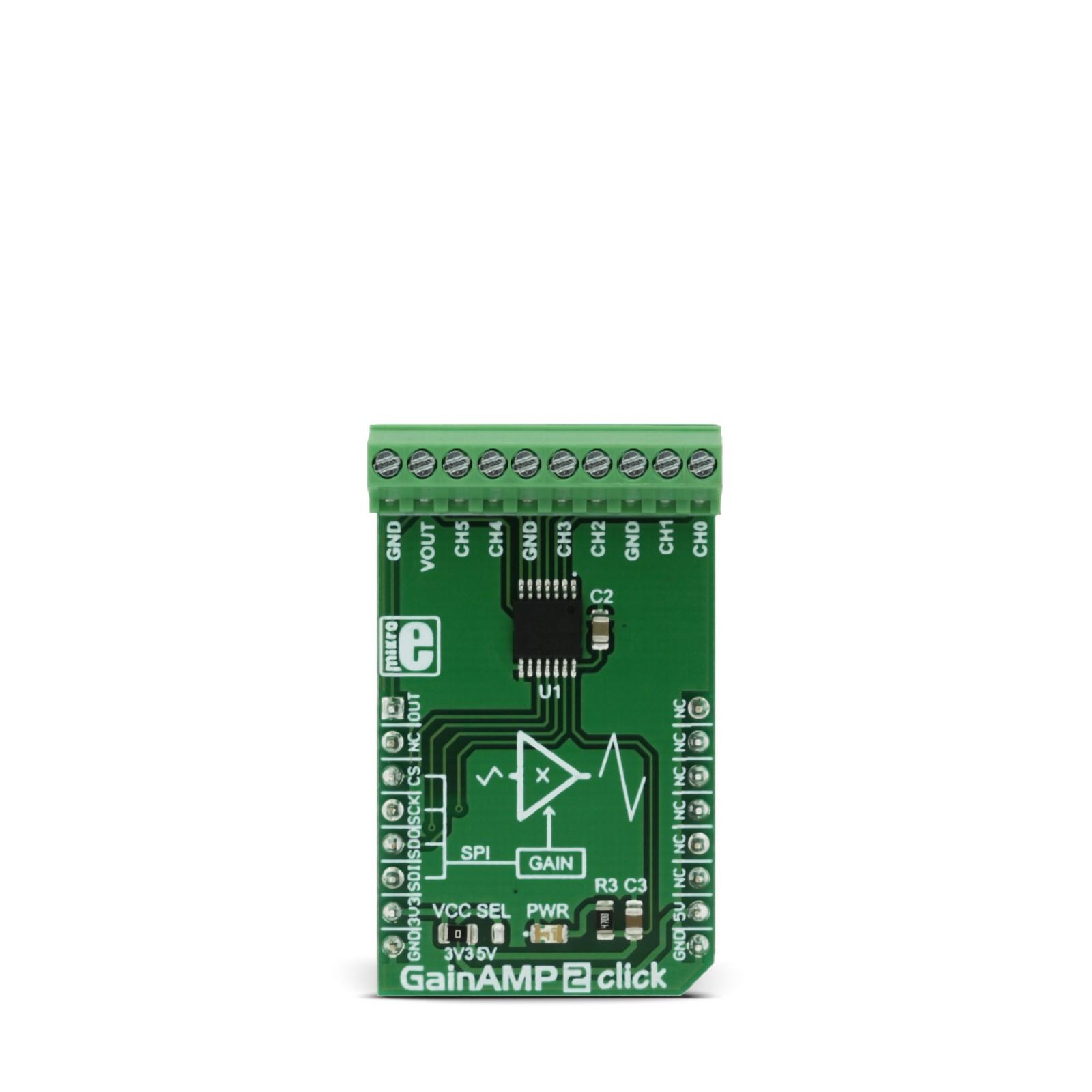 Gainamp 2 Click Mikroelektronika Amplifier Discrete Semiconductor Circuits Electronics Textbook Mgctlbxnmzp Mgctlbxv5112 Mgctlbxlc Mgctlbxpprestashop