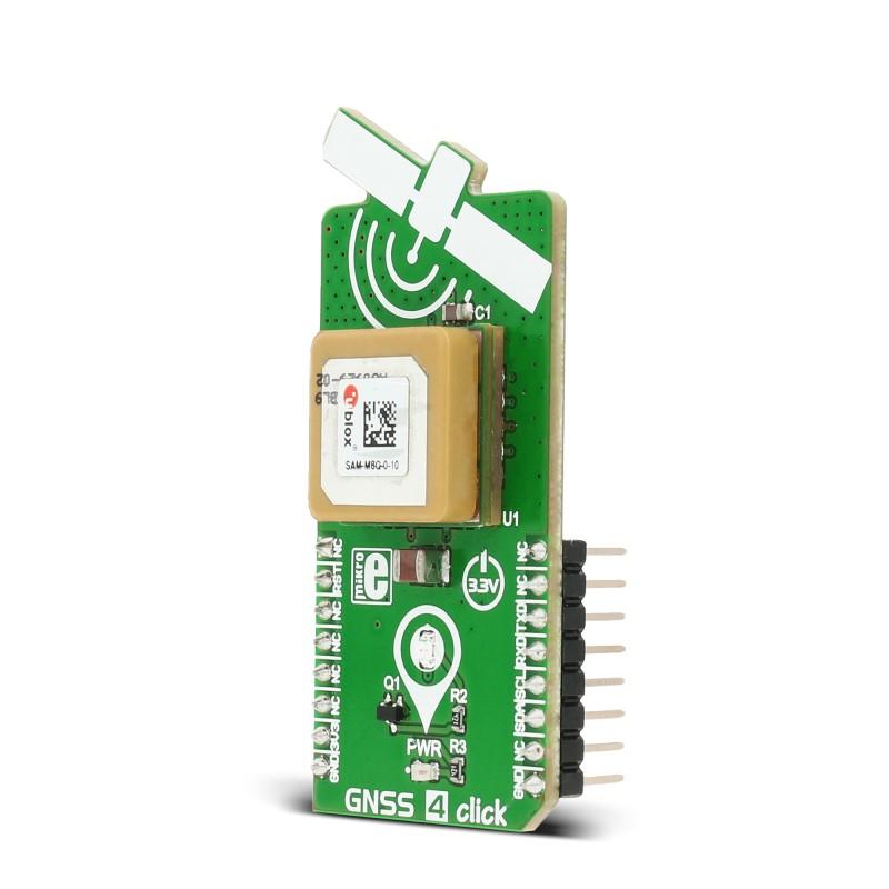 GNSS 4 click - board with SAM-M8Q module from u-blox