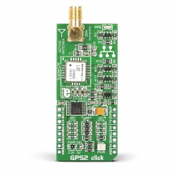 Mikroe GPS2 click front