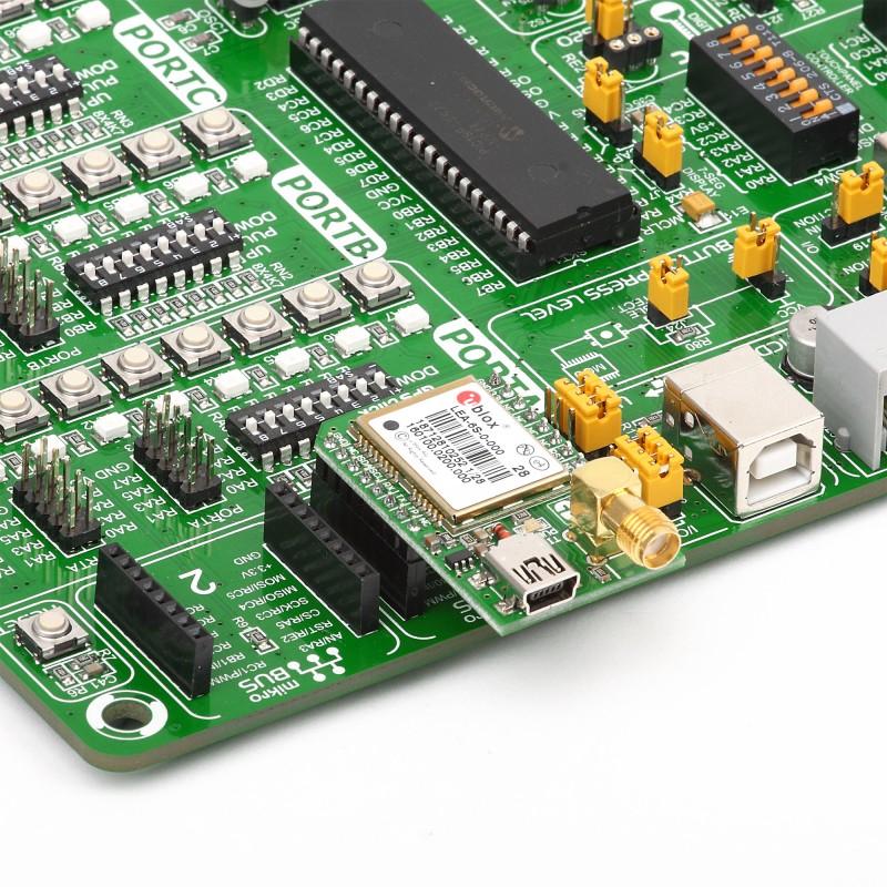GPS Click - Breakout Board for u-blox LEA-6s