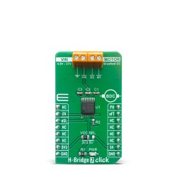 Shop Click Boards Motor Control Brushed H-Bridge 7 Click Front