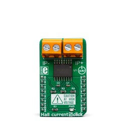 Mikroe Sensors Hall Current 5 Click front