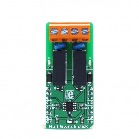 MikroElektronika Click Boards Sensors Hall Switch click front