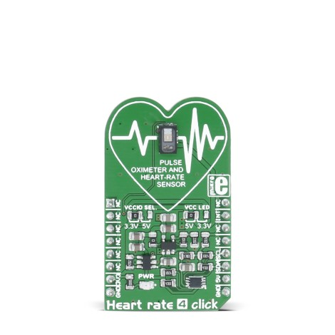 Shop Click Boards Sensors Heart rate 4 click Front