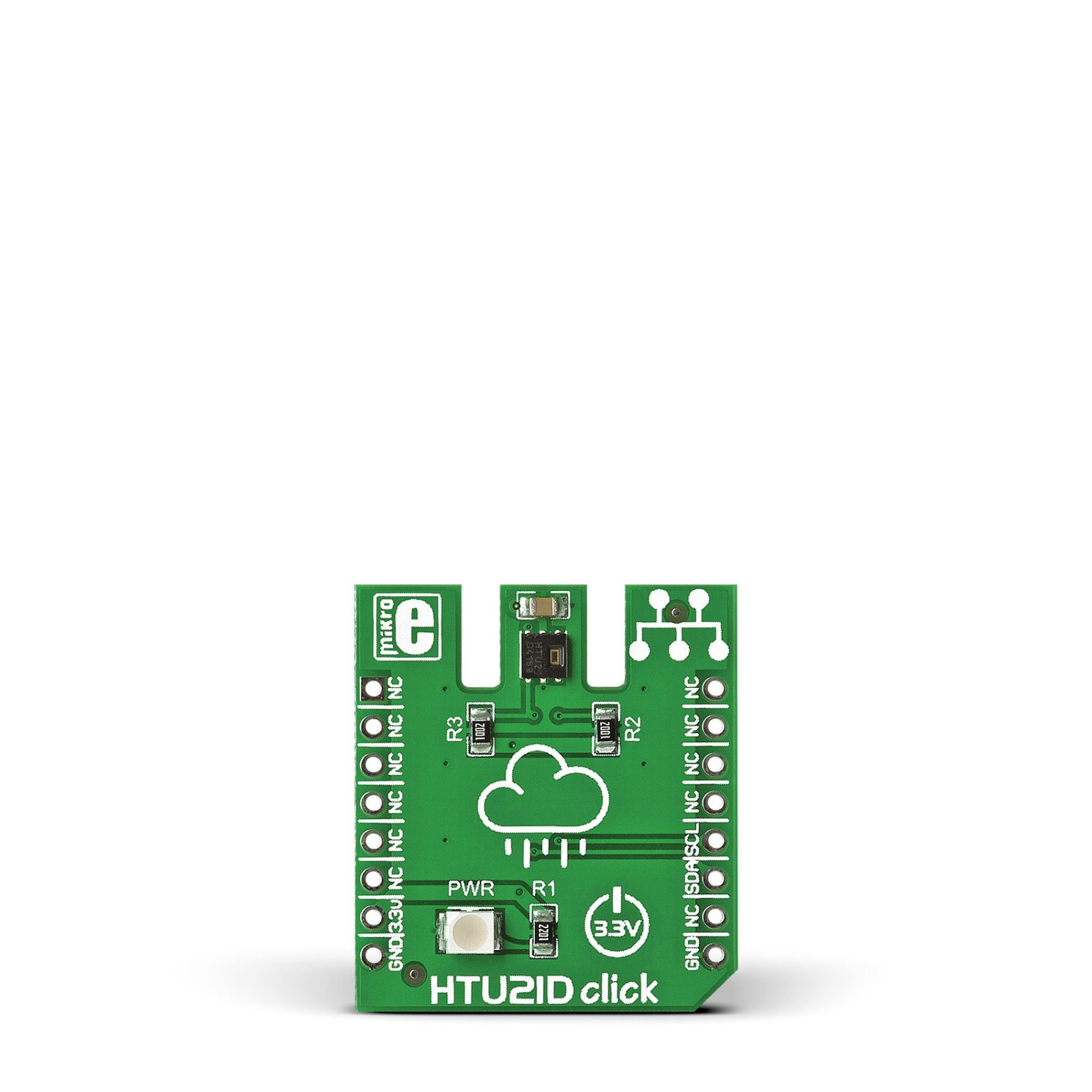 Htu21d Click Carries Relative Humidity Sensor With Temperature Output Copyright Of This Circuit Belongs To Smart Kit Electronics In Mgctlbxnmzp Mgctlbxv5112 Mgctlbxlc Mgctlbxpprestashop