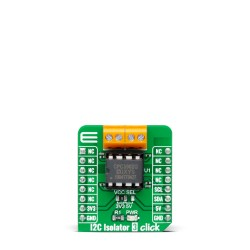 Shop Click Boards Interface I2C I2C Isolator 3 Click Front