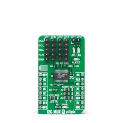 Click Boards Interface I2C MUX 5 click front