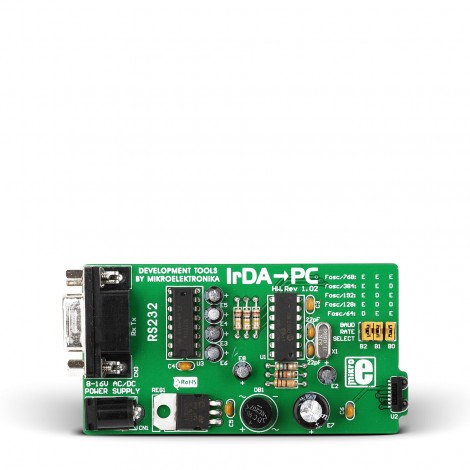 Mikroe IrDA-To-PC Board