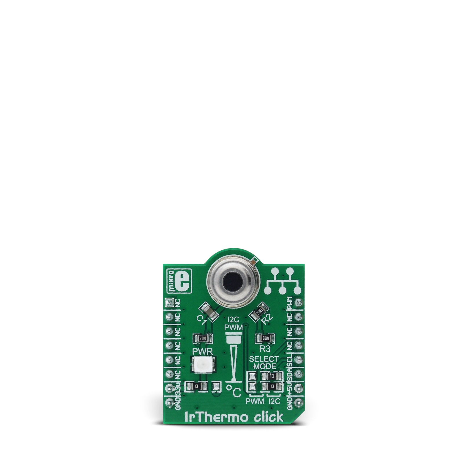 Irthermo Click 33v Board With Mlx90614esf Baa Single Zone Audio Kit Digital Thermometer Pic16f84 Circuit Mgctlbxnmzp Mgctlbxv5112 Mgctlbxlc Mgctlbxpprestashop