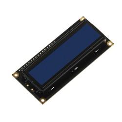Character LCD 2x16 with blue backlight